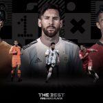 Cristiano, Messi e Van Dijk são finalistas do prêmio Fifa The Best