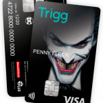 Coringa ganha cartão de crédito pela Trigg