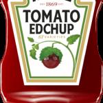 Edição especial de Ketchup Heinz com rótulo personalizado em homenagem a Ed Sheeran chega ao Brasil