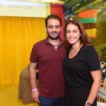 Marcos Jardim e Paula Linhares