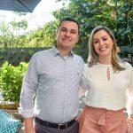 Adriano Bezerra e Aline Fernandes