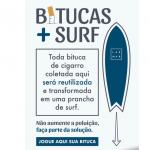 Lar Mar vai transformar bitucas de cigarro em pranchas de surfe