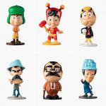 Bob's lança nova coleção de toy arts de Chaves e Chapolin