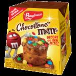 Bauducco e Mars lançam Mini Chocottone M&M's