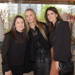 Fernanda Moschen, Rita Cubas e Daniela Tomaselli