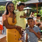 Mariana, Kaue e Cassia Fernandes
