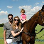 Rico, Melanie Mansur e filha