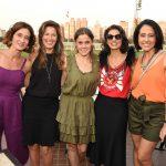 Tatiana Amato, Renata Fonseca, Annelise Steinkopff, Fernanda Suplicy e Adriana Bittar