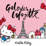 Hello Kitty faz 45 anos e comemora na Galeries Lafayette Paris Hausmann