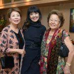 Akiko Takahashi, Audrey Mati e Isabel Takata