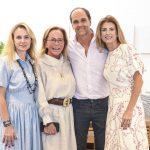 Camilla, Etel e Lissa Carmona com Dado Castello Branco