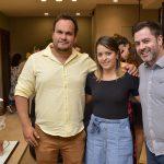 Fabio Vaz de Lima, Vanessa Souza e Tiago Feldens