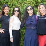Francine Matarazzo, Fernanda Herbella, Adriana Kherlakian e Claudia Falchi Soares