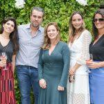 Giovanna Motta, Jacques Rodrigues, Luciana Graiche, Marina Conde e Cacau Khouri