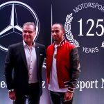 Holger Marquardt e Lewis Hamilton
