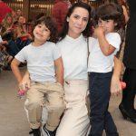 Renata, Antonio e Gabriel Lasmar