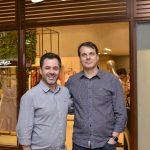 Tiago Feldens e Sandro Bertotti