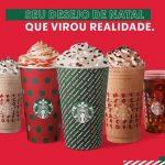 Starbucks apresenta novos copos e bebidas para o Natal 2019
