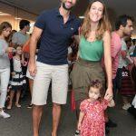 Luiz e Camila Piccini e Bettina