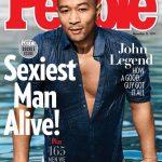 """Músico John Legend é eleito o homem mais sexy de 2019 pela """"People"""""""