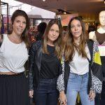 Bebel Fioravanti, Carla Franco e Isabela Frugiuele