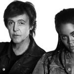 Rihanna e Paul McCartney se encontram, sem querer, em avião