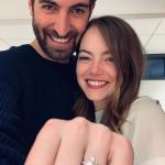 Atriz Emma Stone está noiva!