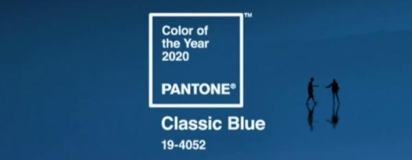 Classic blue é a cor trend de 2020