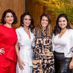Carol Bertoni, Luciana Navarro, Eugenia Maia e Paty Camargo