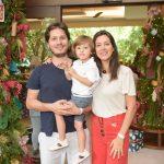 Roberto e John Correa de Souza e Julie Montgomery