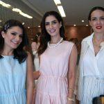 Sophia Alckmin, Nicole Pinheiro e Ana Isabel de Carvalho Pinto