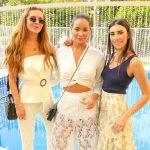 Vanessa Custodio, Kaline Pesquera e Ana Teresa Saad