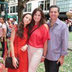 Vivianne Simões, Eduardo Souza e Gabriela