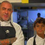 Filho de Fogaça vai trabalhar com o pai em restaurante