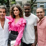 Alvaro Garnero, Laura Fernandes, Seu Jorge e Dudu Melo