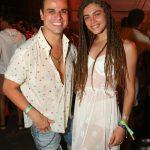Beto Pacheco e Valentina Sampaio