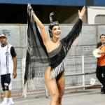 Sabrina Sato participa de primeiro ensaio técnico da Gaviões da Fiel