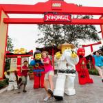 LEGOLAND Florida Resort convida visitantes para tornarem-se ninjas durante o LEGO NINJAGO Days