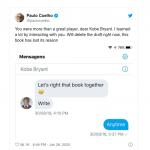 Paulo Coelho revela que estava escrevendo livro com Kobe Bryant
