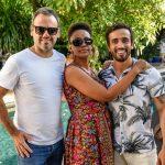 Esteban Mateu, Danni Camilo e Jean Pierre Bernardo