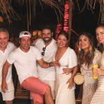 Felipe Facchini, Iquinho Facchini ,Pedro Signoreili, Ju Facchini, Rafa Cury Facchini e Vanessa Sperduti