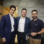 Rafael Pessanha, Rafael Brancatelli e Gustavo Patrício