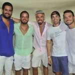 Vitor Dantas, Chico Barbuto, Lucas Sanchez, Rafael Almeida e Herculano Junior