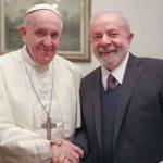 Ex-presidente Lula se encontra com o Papa no Vaticano