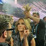 Maquiador de J.Lo no show do Super Bowl conta que demorou 10 horas para preparar a cantora