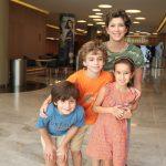 Fabiana, Diego, Isabela e Lucas