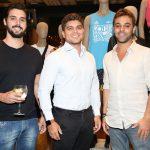 Luccas Riedo, Tallis Gomes e Gabriel Khawali