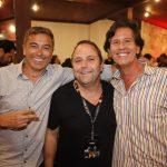 Tuca Maia, Ricardo Salim e Rick Amaral