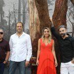 Araquem Alcântara, Eduardo Srur, Francine Ferrari e Marco Aurélio Nery