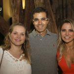 Laura e Ricardo Saad e Francine Ferrari